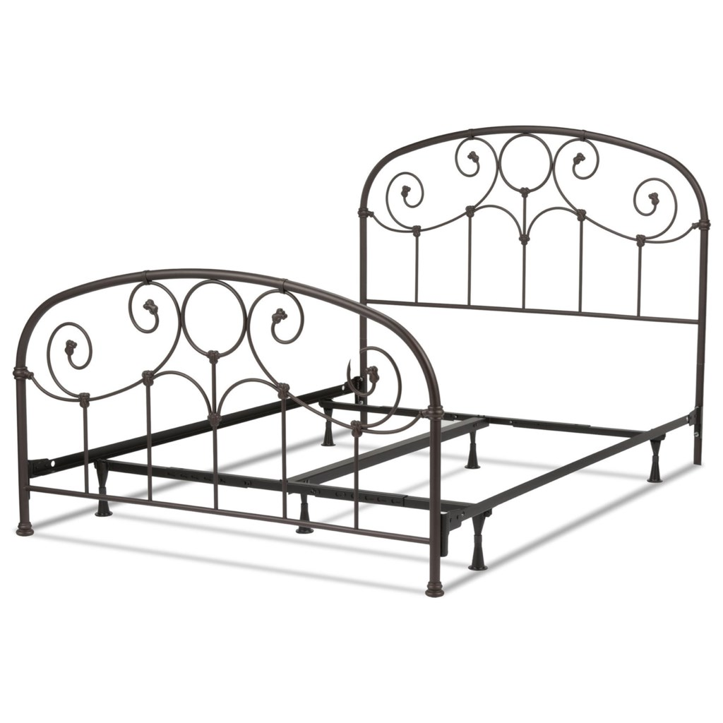 Metal Beds Queen Grafton Metal Bed With Frame Rotmans Panel Beds