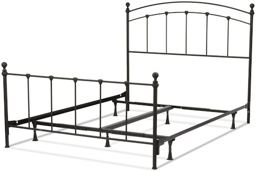Fashion Bed Group Metal Beds Full Sanford Bed w/ Frame