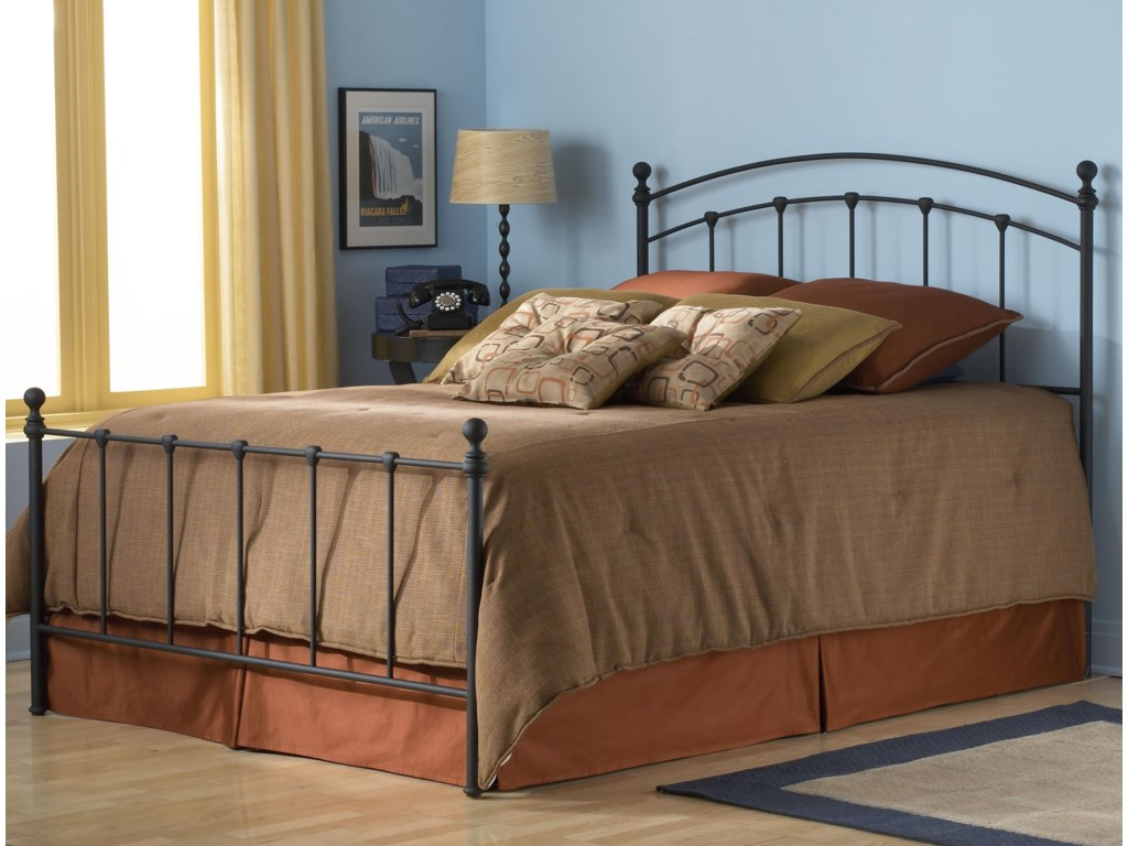 Fashion Bed Group Metal BedsCalifornia King Sanford Bed w/ Frame