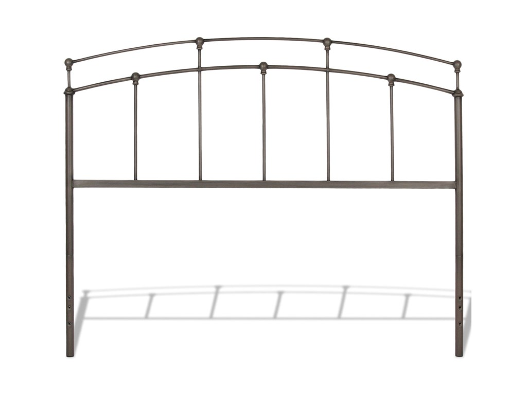 Fashion Bed Group Metal BedsCal King Francis Bed w/ Frame
