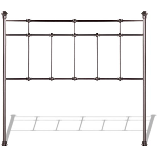 Fashion Bed Group Metal Beds King Dexter Headboard