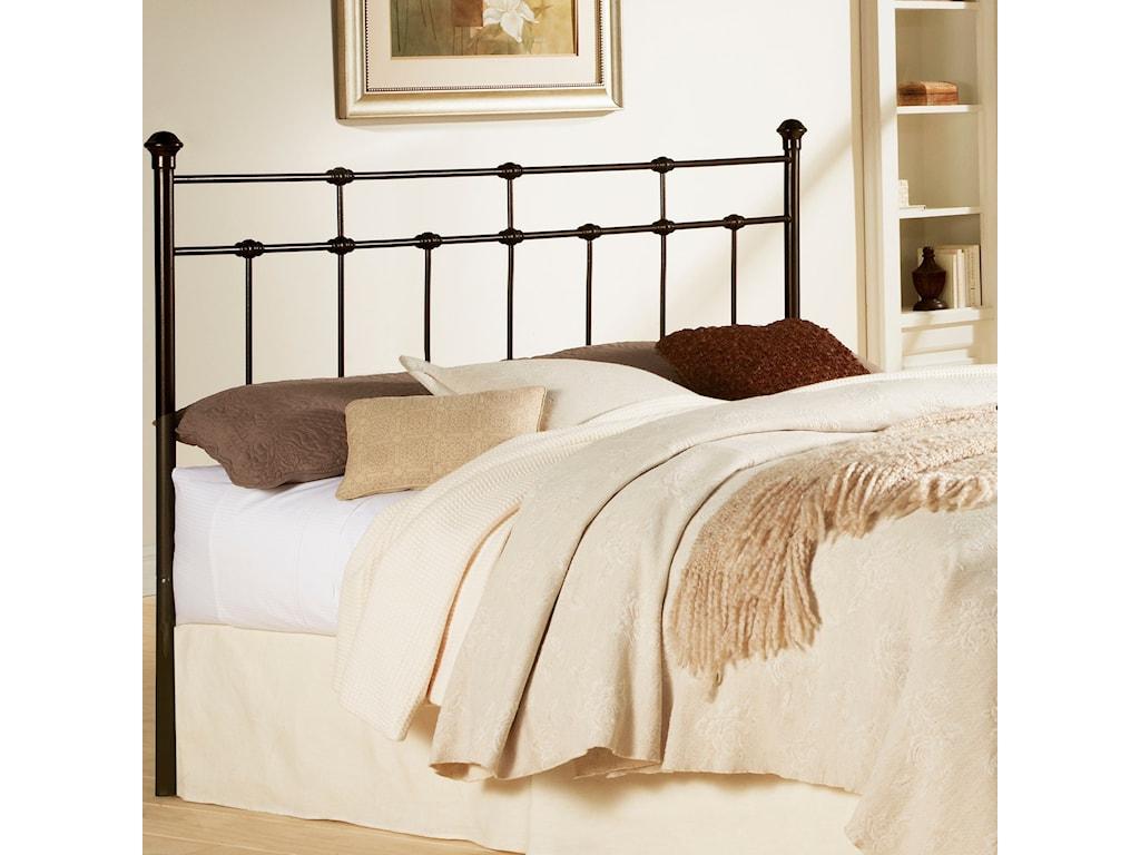 Fashion Bed Group Metal BedsCal King Davis Headboard
