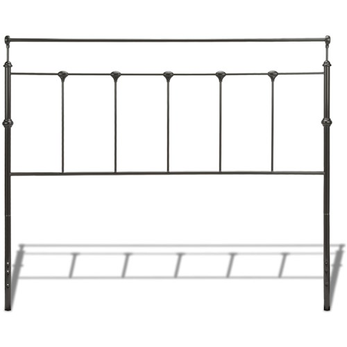 Fashion Bed Group Metal Beds King Winslow Headboard