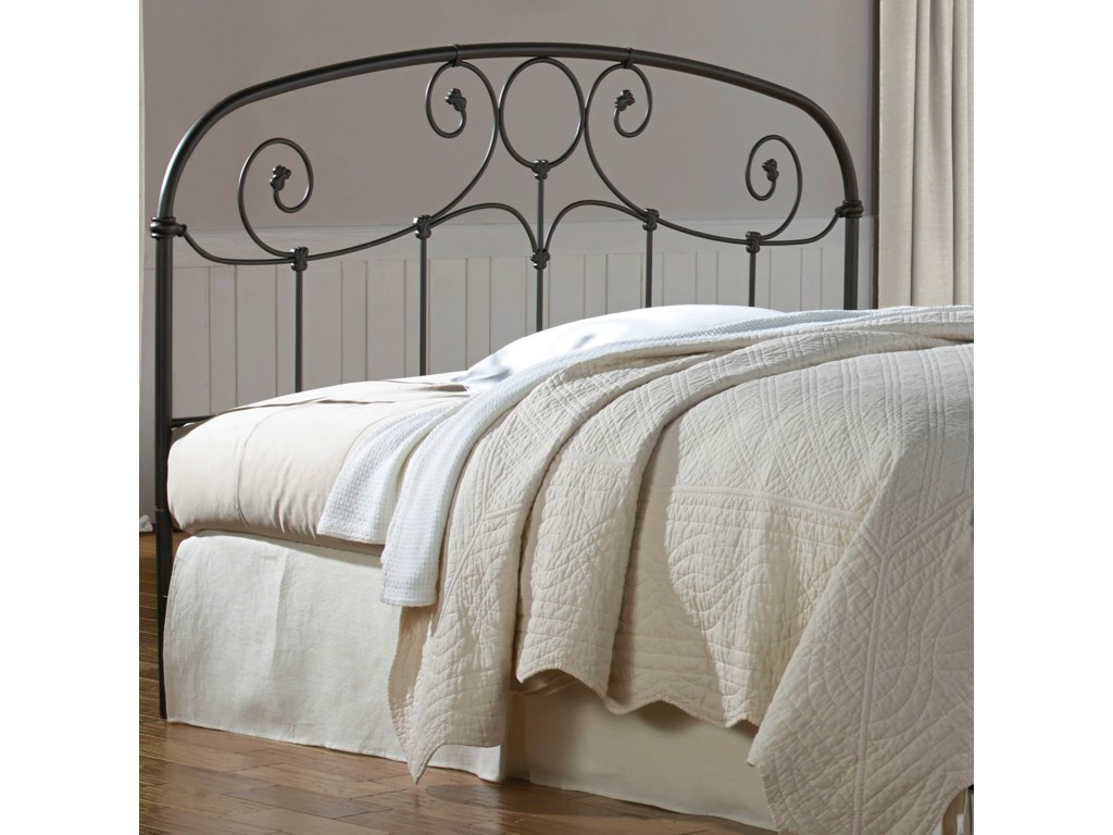 Fashion Bed Group Metal BedsTwin Gregory Headboard