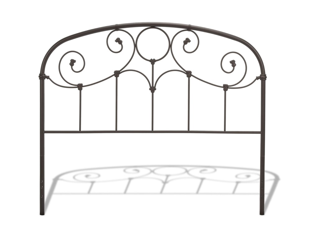 Fashion Bed Group Metal BedsKing Gregory Headboard