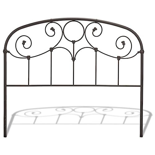 Fashion Bed Group Metal Beds King/California King Grafton Headboard