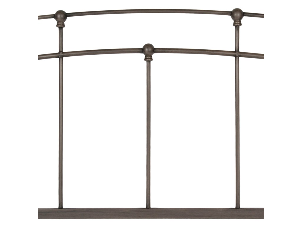 Fashion Bed Group Metal BedsQueen Fenton Duo Panel