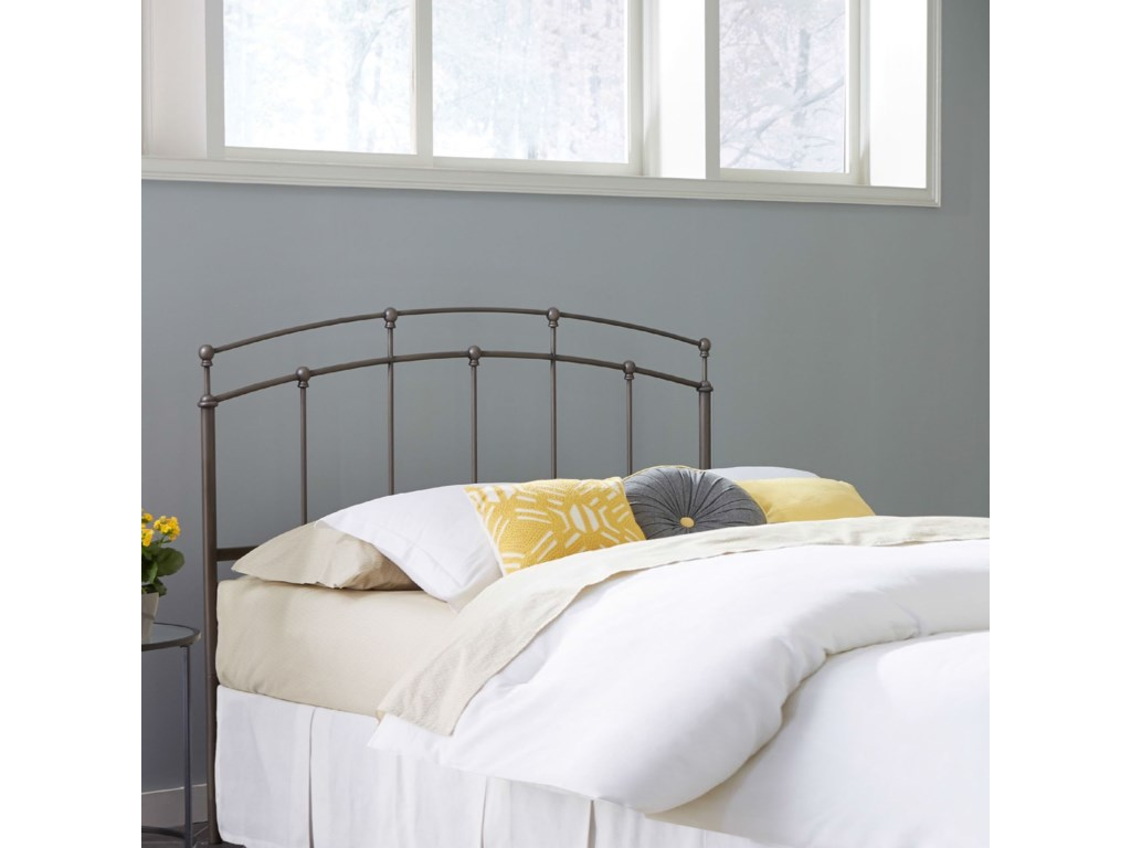 Fashion Bed Group Metal BedsKing Francis Headboard