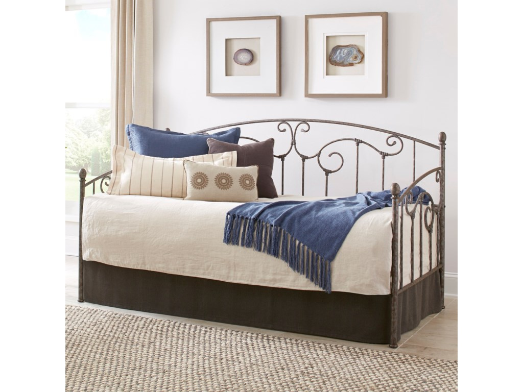 Fashion Bed Group Metal BedsTwin Hinsdale Daybed