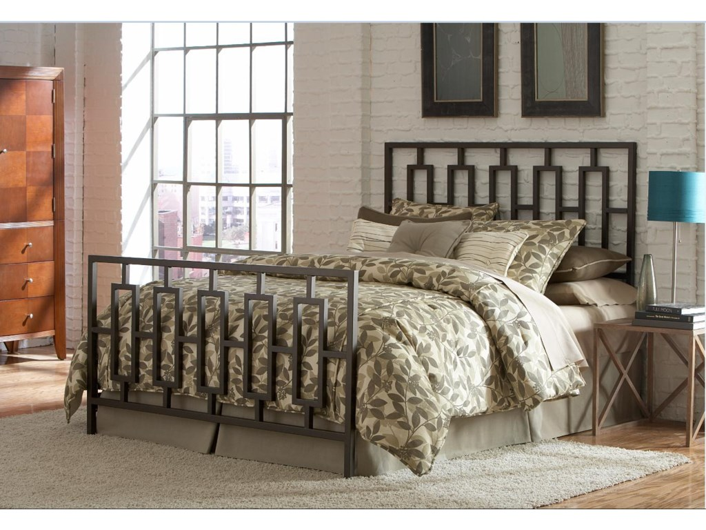 Headboard Shown in Bed Setting