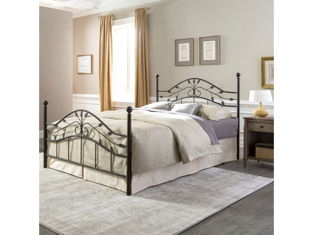 Fashion Bed Group Metal BedsQueen Sycamore Headboard and Footboard