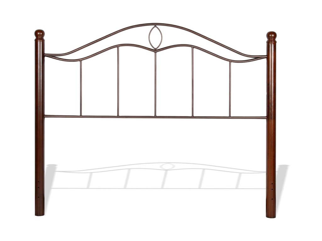 Fashion Bed Group Metal BedsFull Cassidy Headboard and Footboard