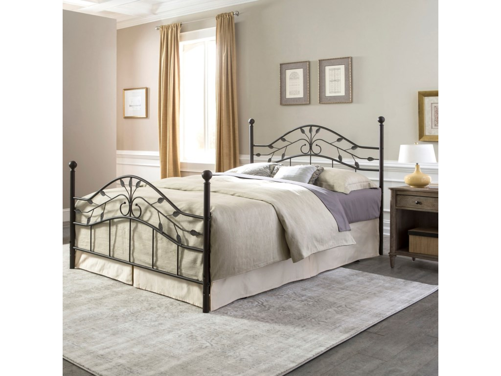 Fashion Bed Group Metal BedsTwin Sycamore Bed w/ Frame