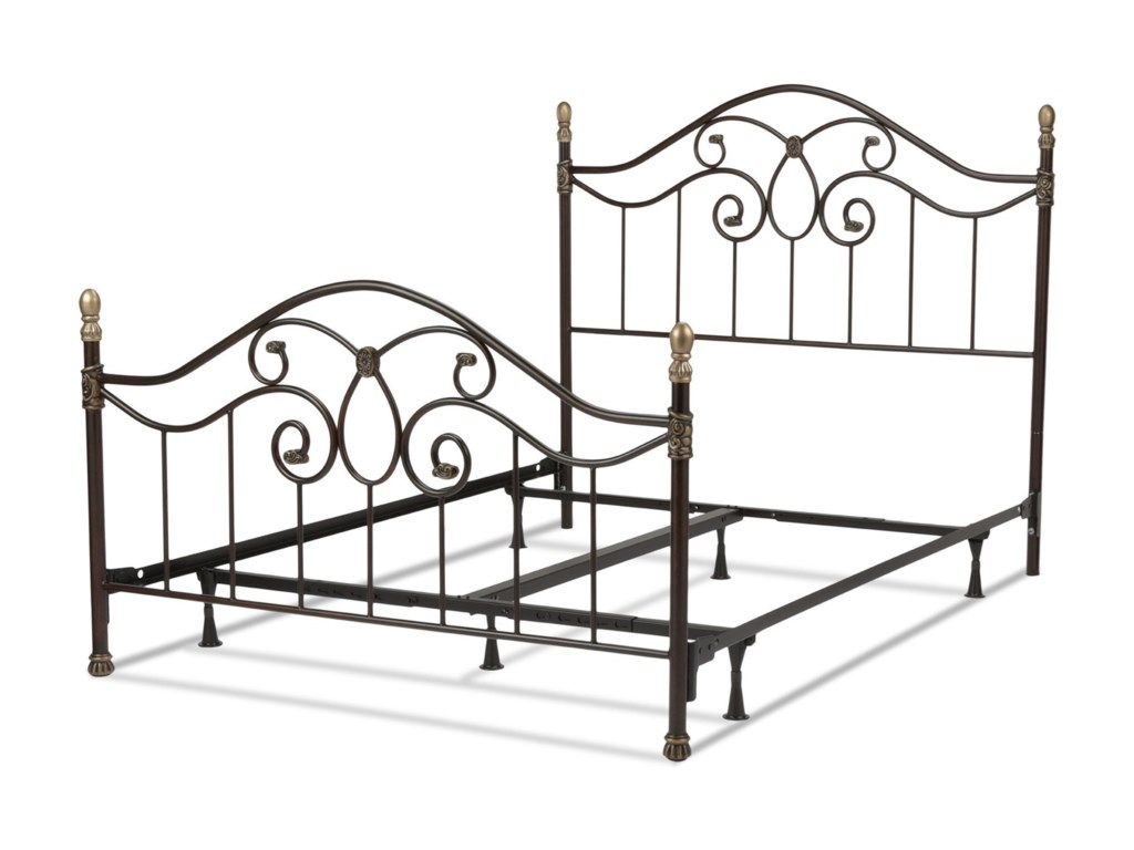 Fashion Bed Group Metal BedsKing Dynasty Metal Bed