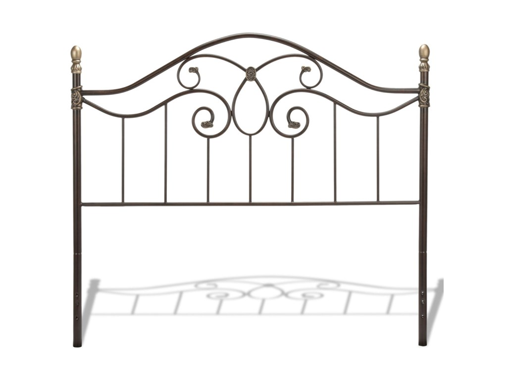 Fashion Bed Group Metal BedsCalifornia King Dynasty Metal Bed