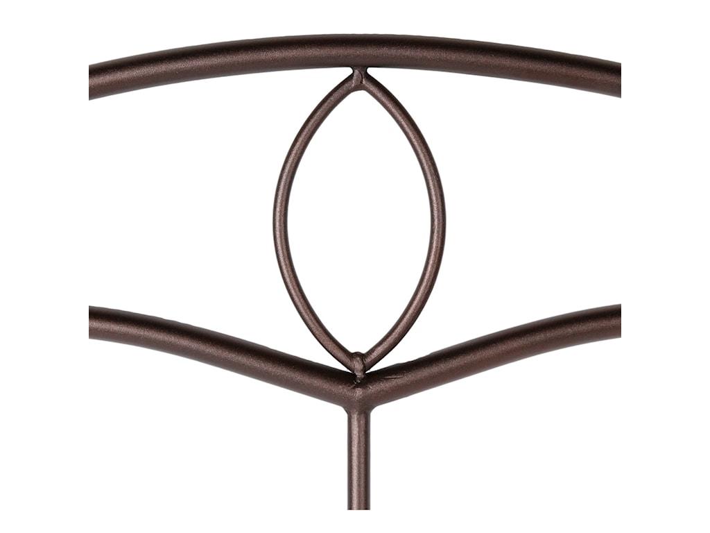 Fashion Bed Group Metal BedsFull Metal Headboard