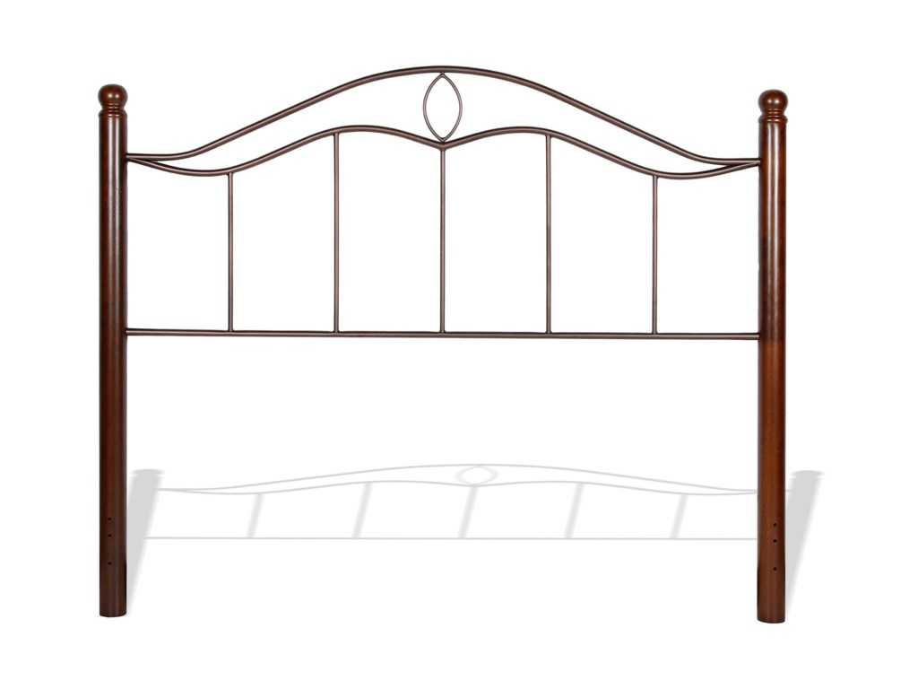 Fashion Bed Group Metal BedsKing Metal Headboard