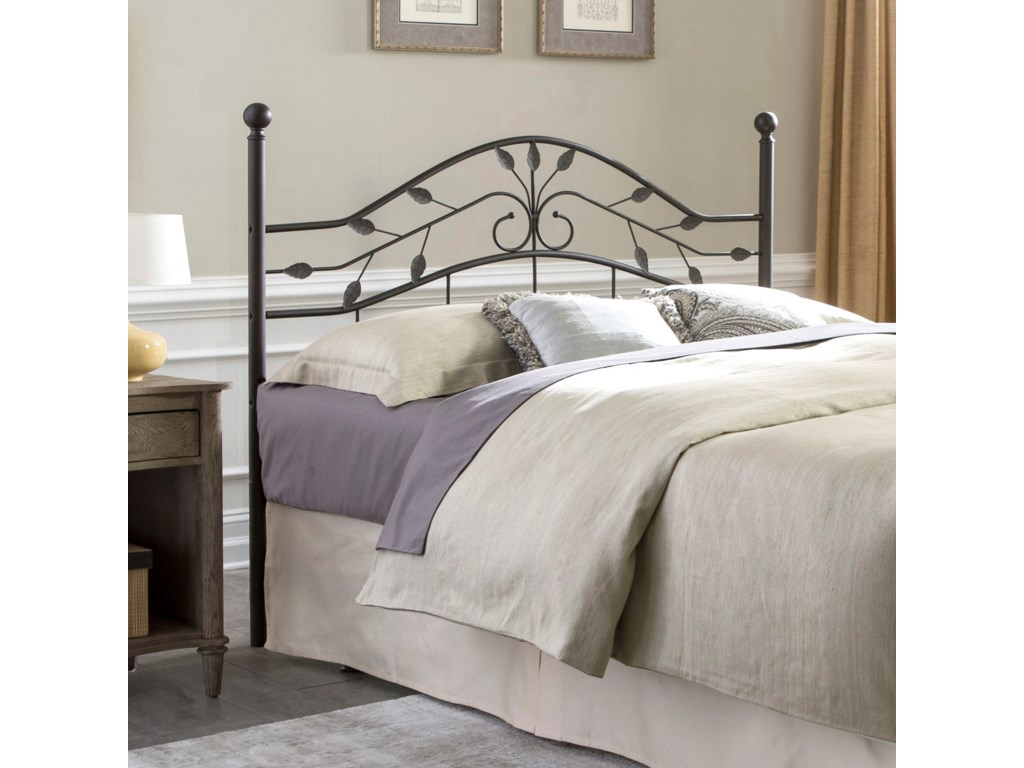 Fashion Bed Group Metal BedsQueen Sycamore Duo Panel