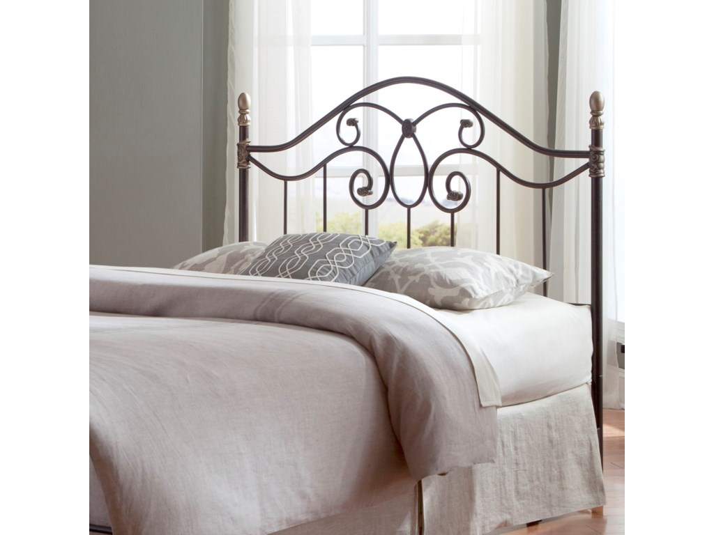 Fashion Bed Group Metal BedsQueen Dynasty Headboard