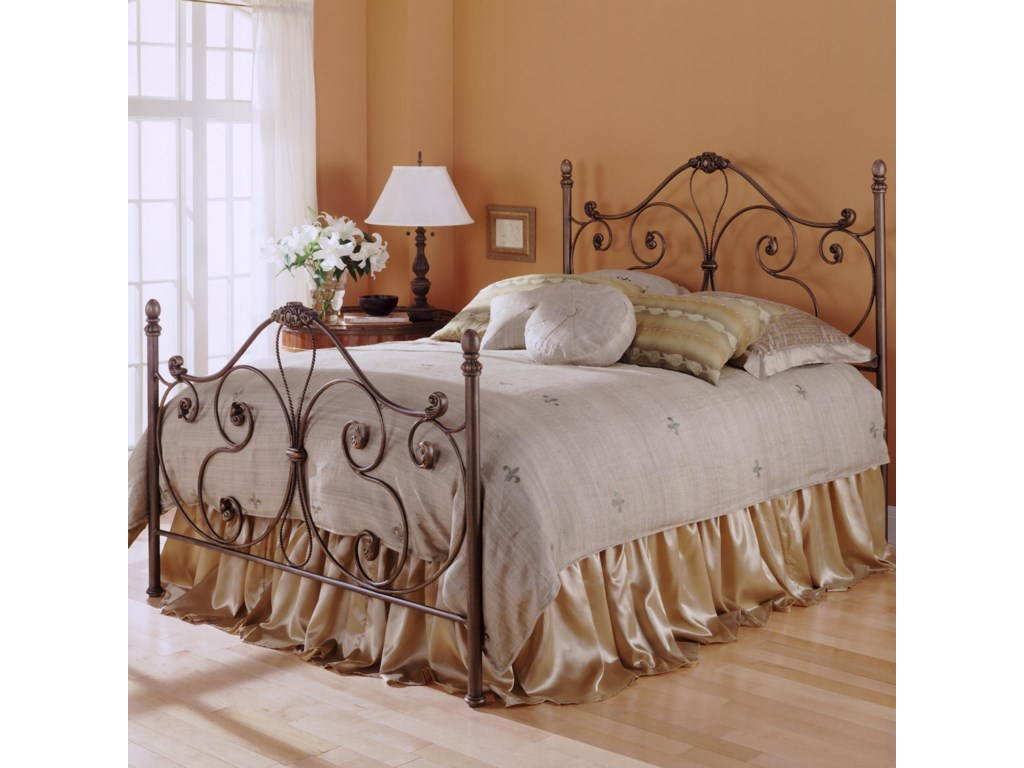 Fashion Bed Group Metal BedsTwin Aynsley Duo Panel
