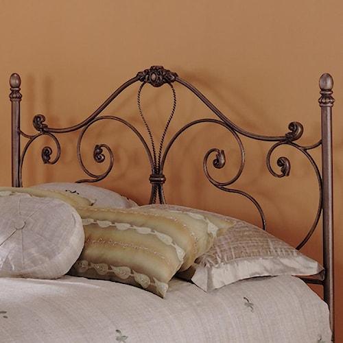 Fashion Bed Group Metal Beds Twin Aynsley Headboard