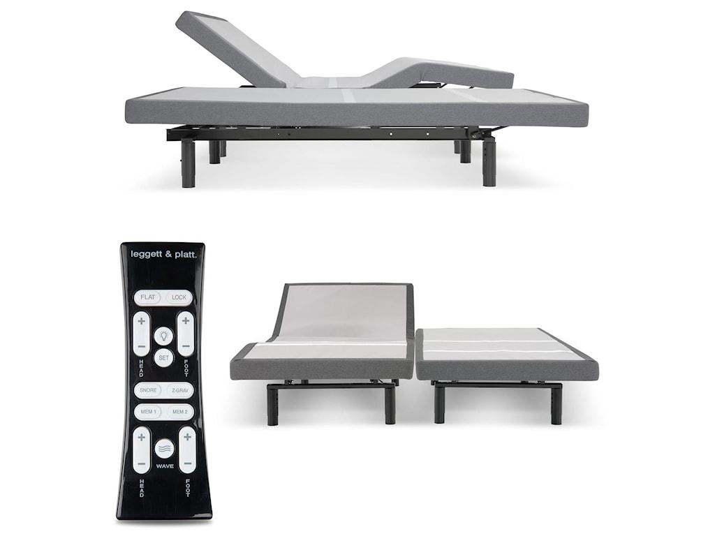 Fashion Bed Group S-Cape 2.0 FoundationSplit King S-Cape 2.0 Adjustable Base
