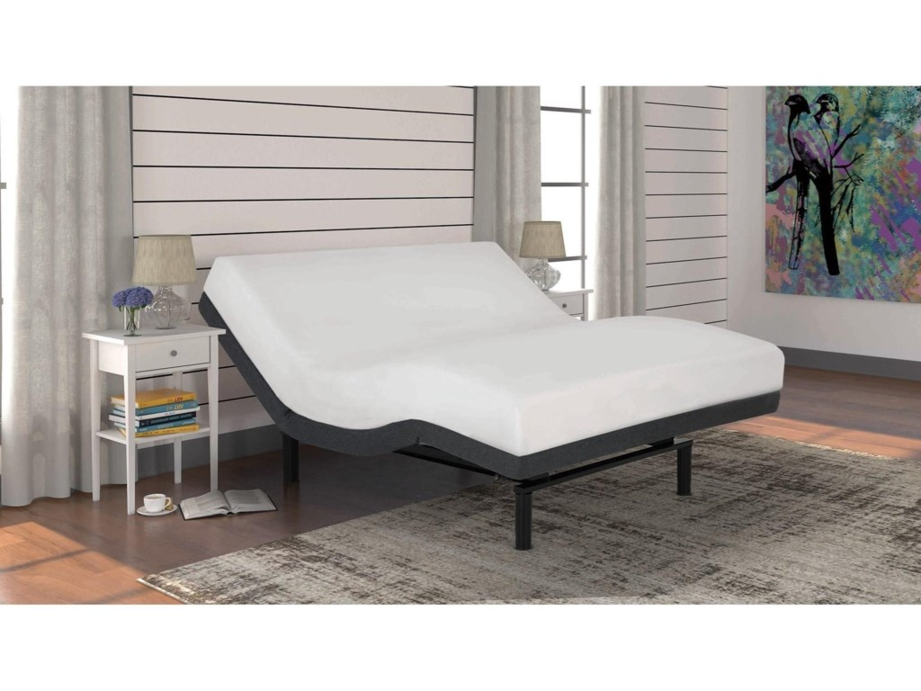 Fashion Bed Group S-Cape+ 2.0Queen S-Cape+ 2.0 Adjustable Base