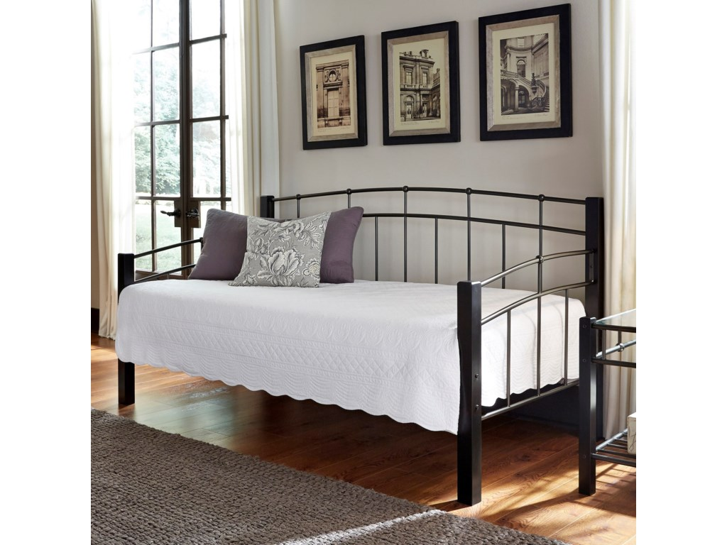 Fashion Bed Group Scottsdale Twin Scottsdale Metal Daybed ...