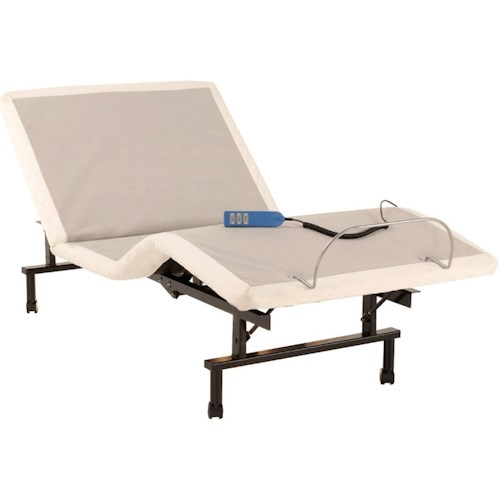Fashion Bed Group ShipShape ShipShape Twin XL Adjustable Bed Base with Ultra-Quiet Motor