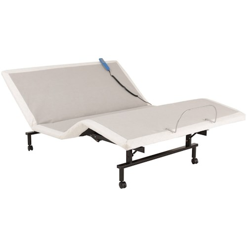 Fashion Bed Group ShipShape ShipShape Queen Adjustable Bed Base with Ultra-Quiet Motor
