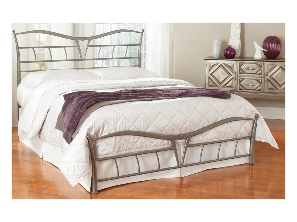 Fashion Bed Group Snap BedsKing Metal Snap Bed