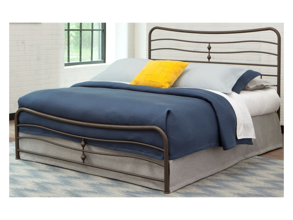 Fashion Bed Group Snap BedsCal King Metal Snap Bed