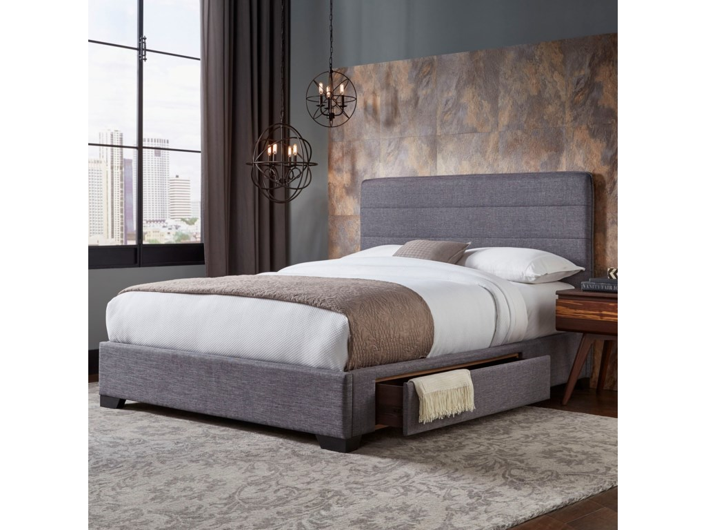 Fashion Bed Group Storage Beds Oliver Queen