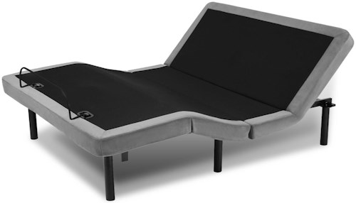 Fashion Bed Group Symmetry King Symmetry ONE Adjustable Bed Base with Head and Foot Articulation