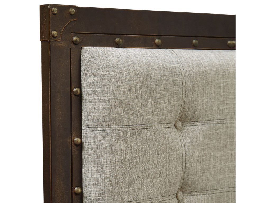 Fashion Bed Group Upholstered Headboards and BedsQueen Gotham Headboard and Footboard