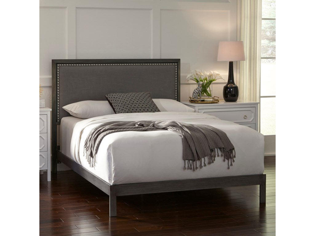 Fashion Bed Group Upholstered Headboards and BedsKing Normandy Platform Bed