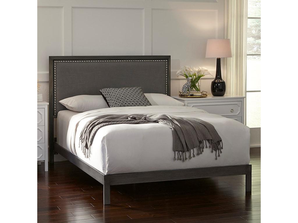 Fashion Bed Group Upholstered Headboards and BedsKing Normandy Platform Bed