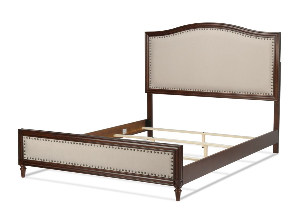 Fashion Bed Group Upholstered Headboards and BedsCal King Grandover Bed