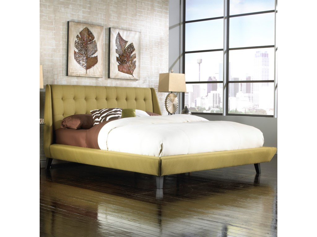 Fashion Bed Group Upholstered Headboards and BedsKing Prelude Platform Bed