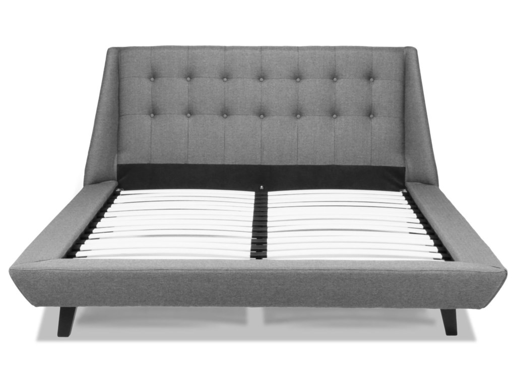 Fashion Bed Group Upholstered Headboards and BedsQueen Prelude Platform Bed