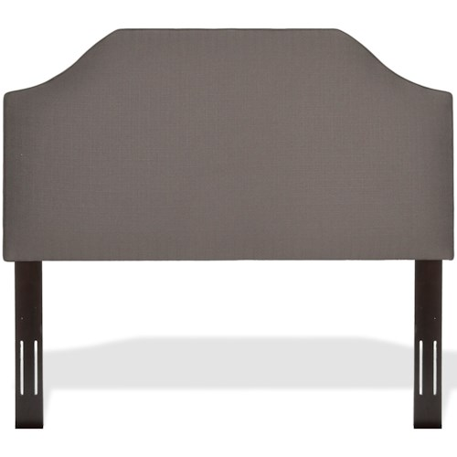 Fashion Bed Group Upholstered Headboards and Beds Twin Bordeaux Upholstered Headboard