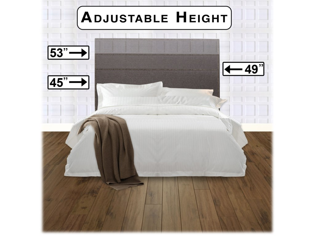 Fashion Bed Group Upholstered Headboards and BedsFull / Queen Brookdale Headboard