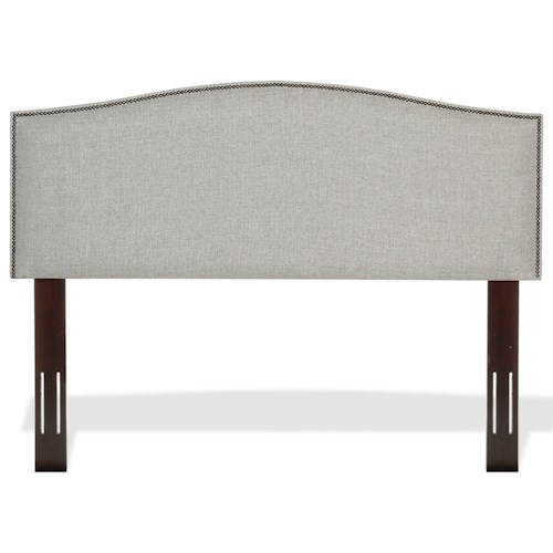 Fashion Bed Group Upholstered Headboards and Beds King / Cal King Carlisle Wood and Fabric Headboard