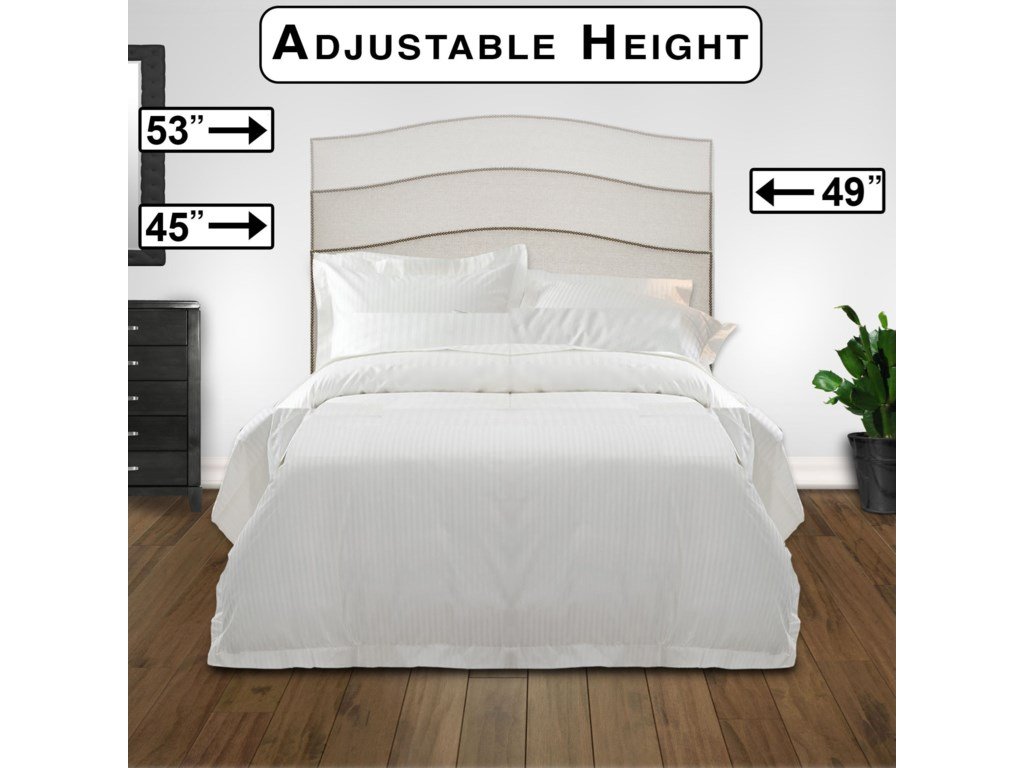 Fashion Bed Group Upholstered Headboards And Bedsfull Queen Wood Fabric Headboard