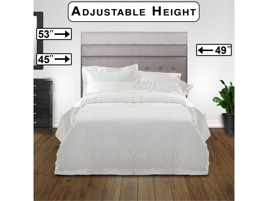 Fashion Bed Group Upholstered Headboards and BedsFull / Queen Easley Headboard