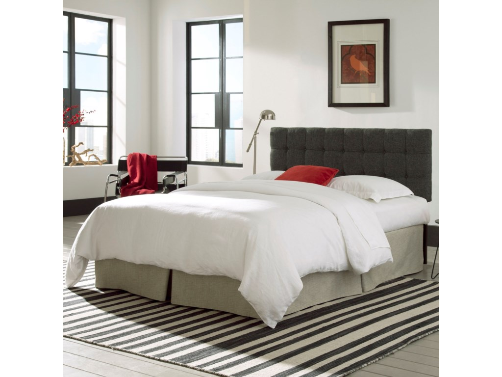Fashion Bed Group Upholstered Headboards and BedsFull / Queen Wood and Fabric Headboard