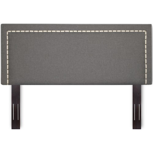 Fashion Bed Group Upholstered Headboards and Beds King / Cal King Wood and Fabric Headboard