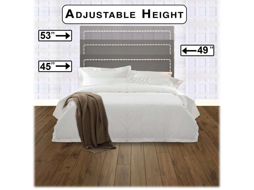 Fashion Bed Group Upholstered Headboards and BedsFull / Queen Wood & Fabric Headboard