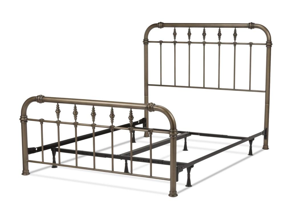 Fashion Bed Group ViennaKing Bed with Frame