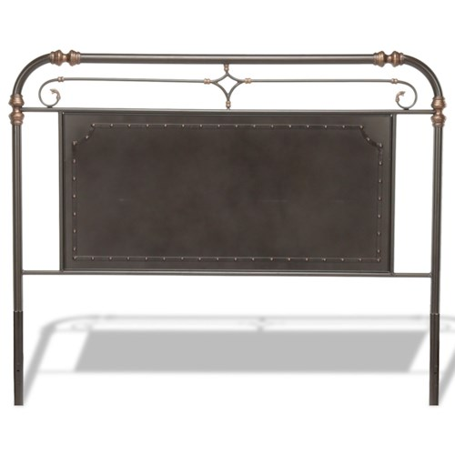 Fashion Bed Group Westchester King Westchester Metal Headboard